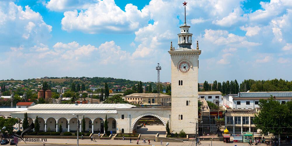 Такси ЖД вокзал Симферополь Порт Кавказ